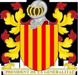 Timbres y ornamentos oficiales del Reino de Aragon Gobernador_catalunya