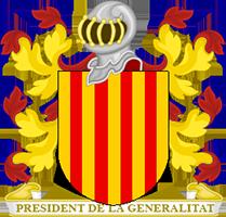 Timbres y ornamentos oficiales del Reino de Aragon Gobernador_catalunya200
