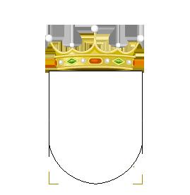 Timbres y ornamentos oficiales del Reino de Aragon 07_vizconde