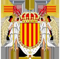Timbres y ornamentos oficiales del Reino de Aragon Pr_catalunya_200