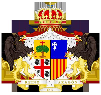 Timbres y ornamentos oficiales del Reino de Aragon Reino_aragon_big