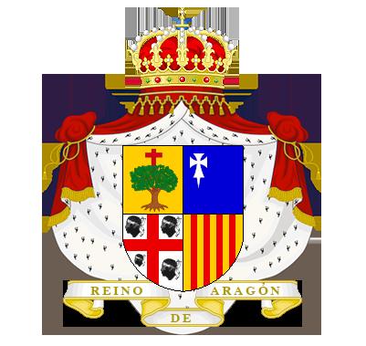 Timbres y ornamentos oficiales del Reino de Aragon Reino_aragon_big2