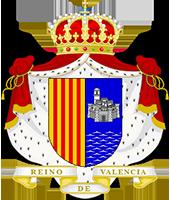 Timbres y ornamentos oficiales del Reino de Aragon Reino_valencia_200