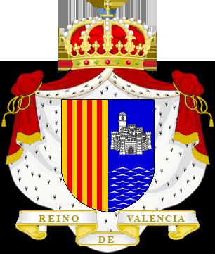 Timbres y ornamentos oficiales del Reino de Aragon Reino_valencia_big