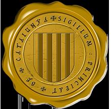 Timbres y ornamentos oficiales del Reino de Aragon Catalunya_jaune