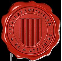 Timbres y ornamentos oficiales del Reino de Aragon Catalunya_rouge