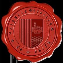 Timbres y ornamentos oficiales del Reino de Aragon Valencia_rouge