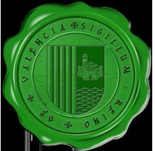Timbres y ornamentos oficiales del Reino de Aragon Valencia_vert