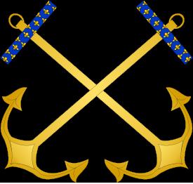 Ornements officiels - FR Amiral