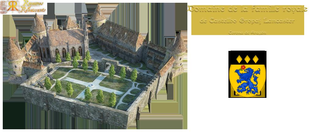 Famille Princière de Castellbo Gropaj Lancaster